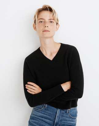Madewell Cashmere V-Neck Sweater
