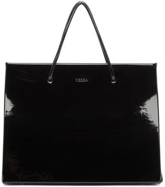 Medea Black Vinyl Prima Hanna Bag