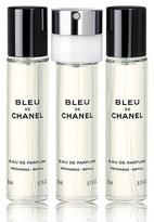 Chanel BLEU DE Eau de Parfum Pour Homme Refillable Travel Spray, 0.7 oz./ 20 mL