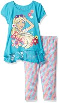Barbie Toddler Girls' 2 Piece Tee and Legging Set