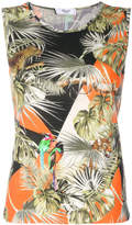 Blugirl jungle print tank top
