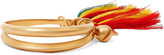Chloé Gold-plated tasseled bangle