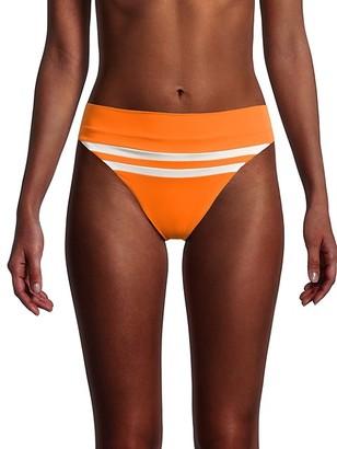 L-Space Striped Bikini Bottom