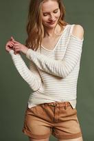 Michael Stars Desiree Open-Shoulder Pullover