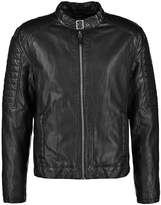 Gipsy Benno Faux Leather Jacket Schwarz