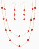 Charming charlie Tandi Station Necklace Set