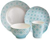 Bed Bath & Beyond American Atelier Quatre 16-Piece Dinnerware Set in Teal