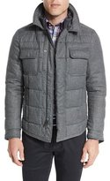 Peter Millar Kent Quilted Flannel Jacket