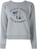 Visvim College Print Sweatshirt - women - Cotton/Rayon - M
