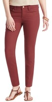 "LOFT Modern Skinny Ankle Jeans in Terra Cotta Red with 29"" Inseam"