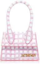 Jacquemus Le Chiquito Checked Leather Bag