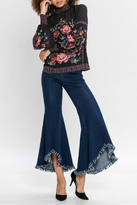 Flying Tomato Floral Longsleeve Top