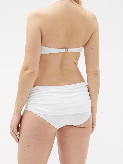 Thumbnail for your product : Norma Kamali Bill Low-rise Bikini Briefs - White