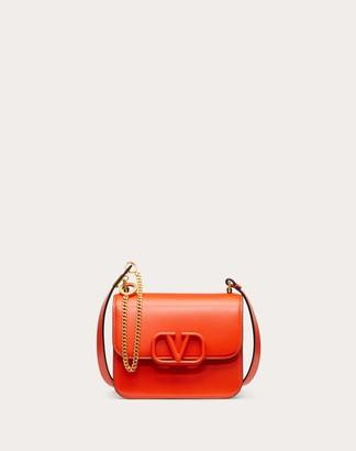 Valentino Small Vsling Smooth Calfskin Shoulder Bag Women Macaron Calfskin 100% OneSize