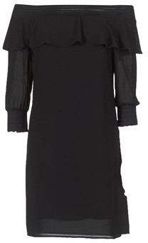 Sisley PLOUNU women's Dress in Black