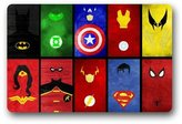 "Scottshop Personalise Custom Superheroes creative Outdoor / Indoor Doormat £¬bathroom anti-skid pads toilet waterproof mats £¬23.6""(L) x 15.7""(W) Decor Door mat"