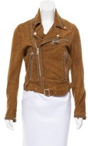 Diesel Embellished Leather Jacket