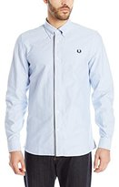 Fred Perry Men's Gingham Trim Oxford Shirt