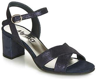 Myma KATIE women's Sandals in Blue