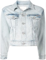 Mother short denim jacket