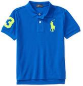 Polo Ralph Lauren Cotton Mesh Polo Shirt (5-7 years)