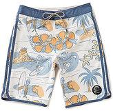 O'Neill Big Boys 8-20 Hyperfreak Nick Simich Tropical Floral Printed Board Shorts