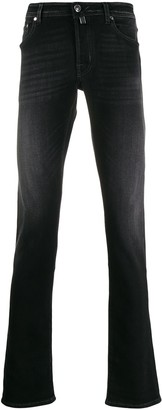 Jacob Cohen Low-Rise Skinny Jeans
