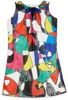 Us Angels Girls' Cubist Print Dress - Sizes 7-16