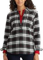 Chaps Women's Buffalo Plaid Cotton Pullover