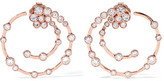 Ippolita Glamazon® Stardust 18-karat Rose Gold Diamond Earrings - one size