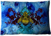 Houseology Timorous Blue Blotch Bee Cushion