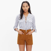 Madewell Monroe High-Rise Shorts