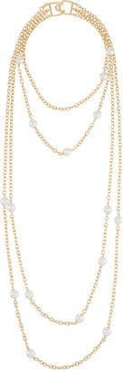 Kenneth Jay Lane 4-Layer Chain Necklace, 28""