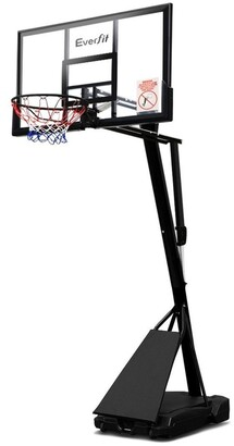 Everfit Pro Portable Basketball Stand System Ring Hoop Net Height Adjustable 3.05M No