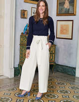 Boden Paperbag Crop Pants