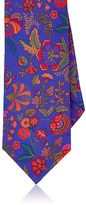 Barneys New York Men's Floral Silk Faille Necktie
