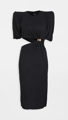 Versace Jersey Asy Cutout Dress