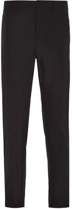 Prada Technical Fabric Slim-Fit Trousers