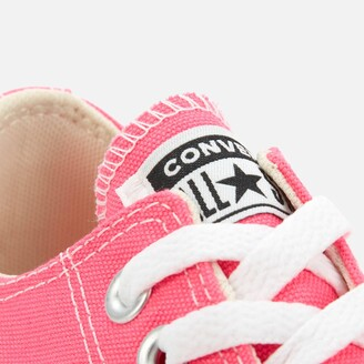 Converse Chuck Taylor All Star Canvas Ox Trainers - Pink