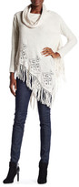 Cliche Long Sleeve Cowl Neck Poncho