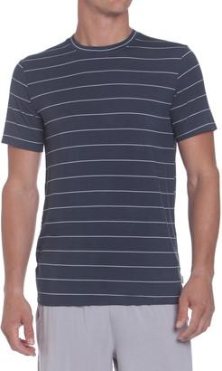 Ted Baker Stripe Crewneck T-Shirt