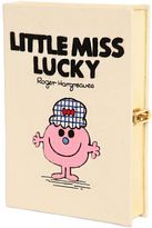 Olympia Le-Tan Little Miss Lucky Embroidery Book Clutch