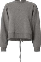 Alexander Wang French Terry Tie Back Sweatshirt