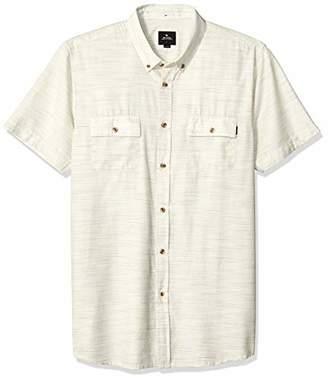 Rip Curl Men's Barton Short Sleeve Button Up Shirt