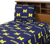 Bed Bath & Beyond University of Michigan Sheet Set
