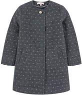 Lili Gaufrette Jacquard knit coat