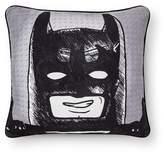"""Lego The Batman Movie®; Sure Shot Black & White Throw Pillow (13""""x10"""")"""