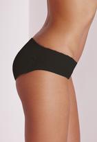 Missguided Black Rakila Padded Bum Pants