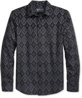 American Rag Men's Fair Isle Flannel Shirt, Only at Macy's