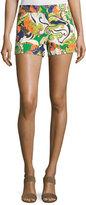 Trina Turk Paisley-Printed Short Shorts